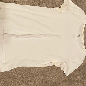Plain white t shirt 100% cotton
